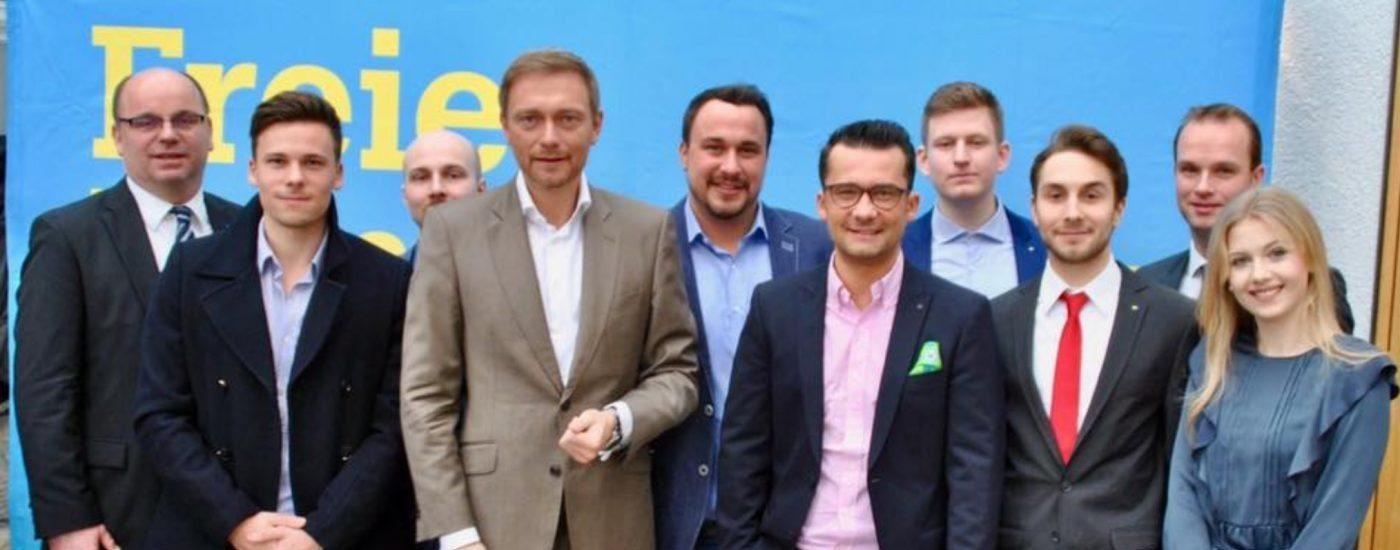 Neujahrsempfang der FDP mit Christian Lindner