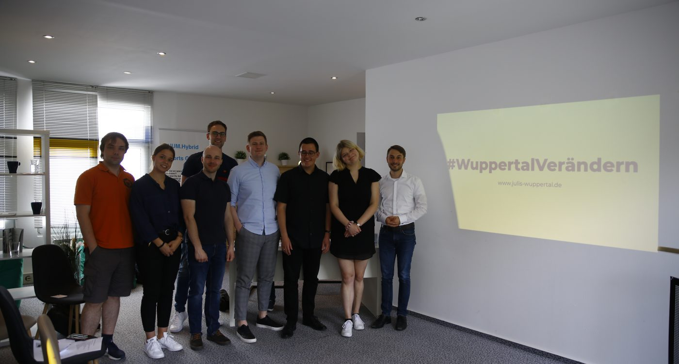 Vorstand Junge Liberale Wuppertal