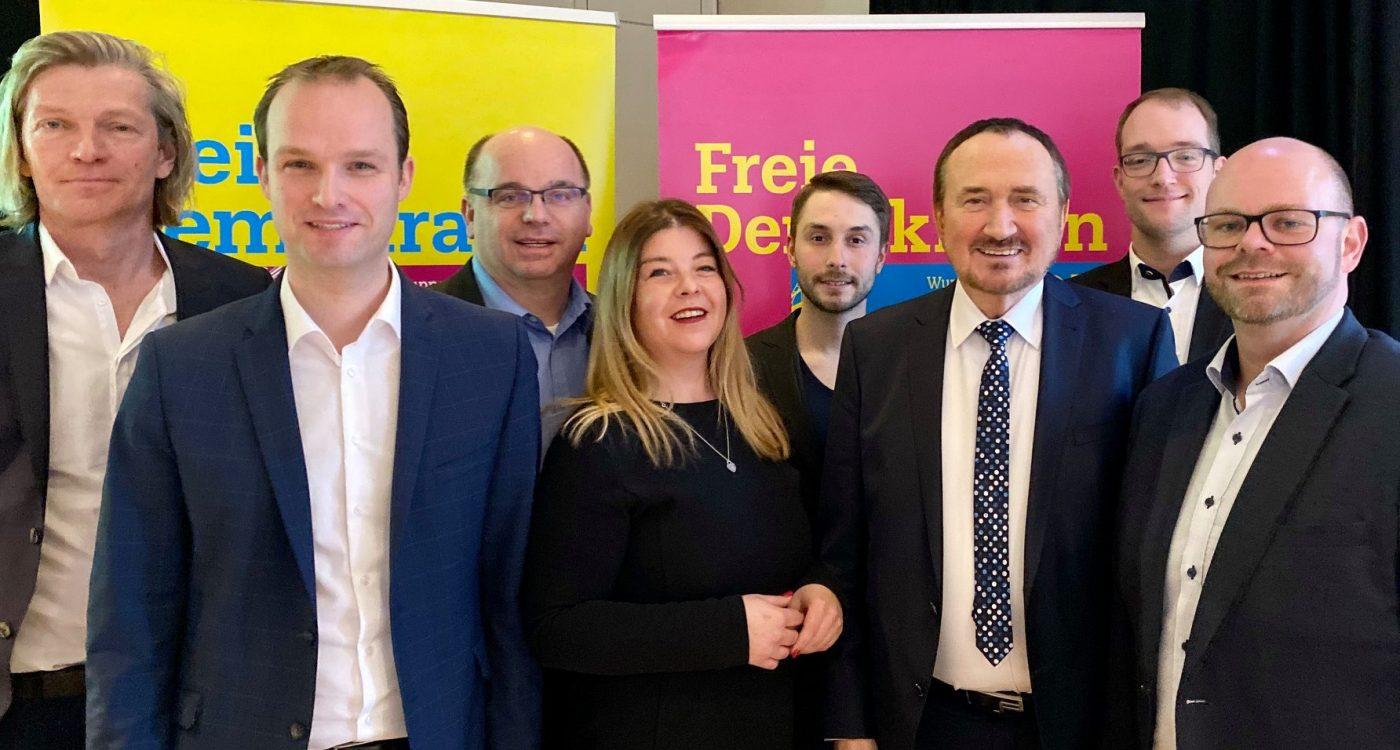 Vorstand FDP Wuppertal